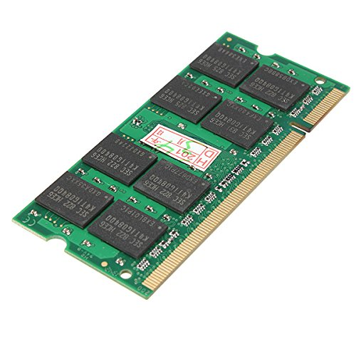 2x2 GB DDR2 SODIMM RAM Bellek 667 MHz 200-pin PC2-5300 Notebook