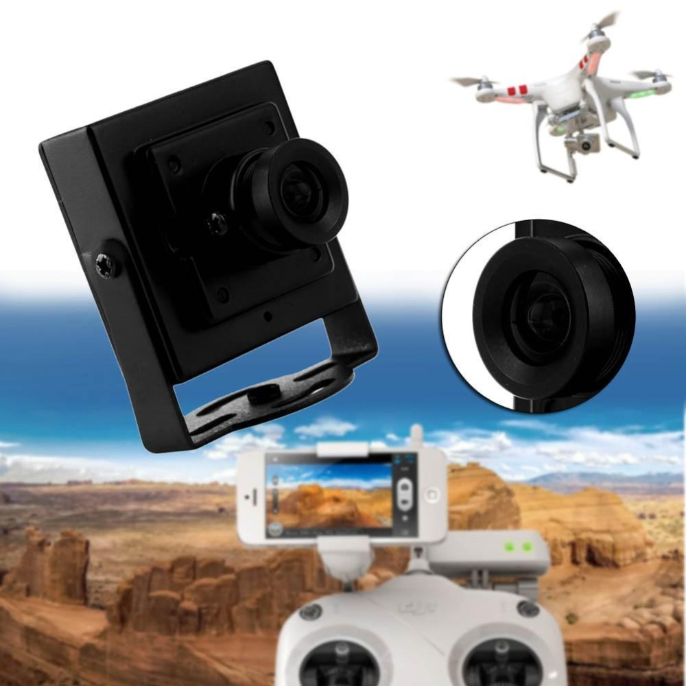 En iyi HD 700TVL 3.6mm Lens Mini Video FPV Renkli Kamera Için quadcopter uçak