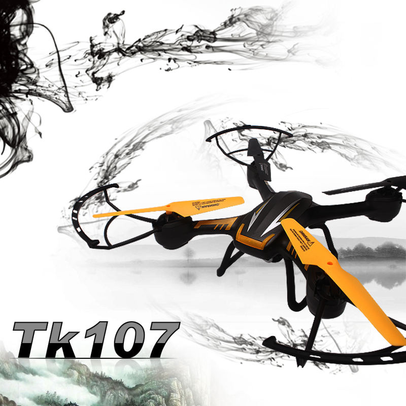 Yeni RC Quadcopter TK107 RC drone Helikopter 6 Eksen Gyro 2.4G 2.0 HD Kamera ve 4 GB SD kart ile 4.5CH VS U842 U919A