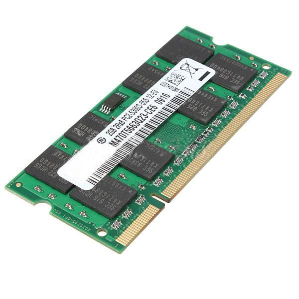 2x2 GB PC2-5300 DDR2 677 MHZ Laptop bellek